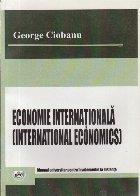 Economie internationala - Manual universitar pentru invatamantul la distanta