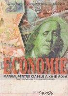Economie, Manual pentru clasele a X- a si a XI- a