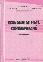 Economie de Piata Contemporana - Microeconomie