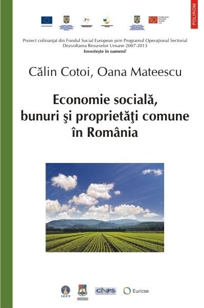Economie socială, bunuri și proprietăți comune în România