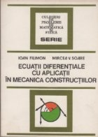 Ecuatii diferentiale aplicatii mecanica constructiilor