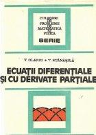 Ecuatii diferentiale derivate partiale