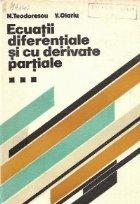 Ecuatii diferentiale derivate partiale Volumul