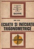 Ecuatii si inecuatii trigonometrice