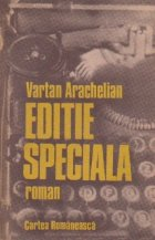 Editie speciala - roman -