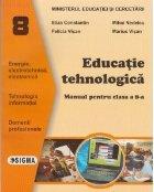 Educatie tehnologica Manual (clasa VIII