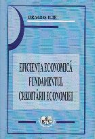 Eficienta economica fundamentul creditarii economiei
