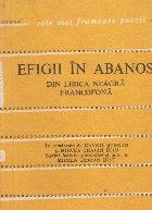 Efigii in abanos - Din lirica neagra francofona
