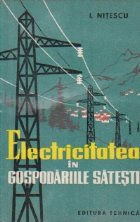 Electricitatea in gospodariile satesti