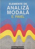 Elemente de analiza modala - Aplicatii in energetica