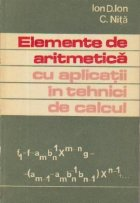 Elemente de aritmetica cu aplicatii in tehnici de calcul