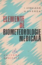 Elemente de biometeorologie medicala
