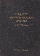 Elemente de inframicrobiologie speciala
