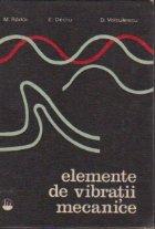 Elemente vibratii mecanice
