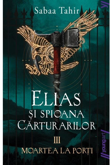 Elias şi spioana Cărturarilor III. Moartea la porți | paperback