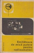 Emitatoare de mica putere pentru radioamatori