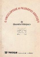 O Enciclopedie a Filosofiei Grecesti, Volumul I, A-C