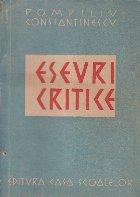 Eseuri Critice (Pompiliu Constantinescu, Editie 1947)