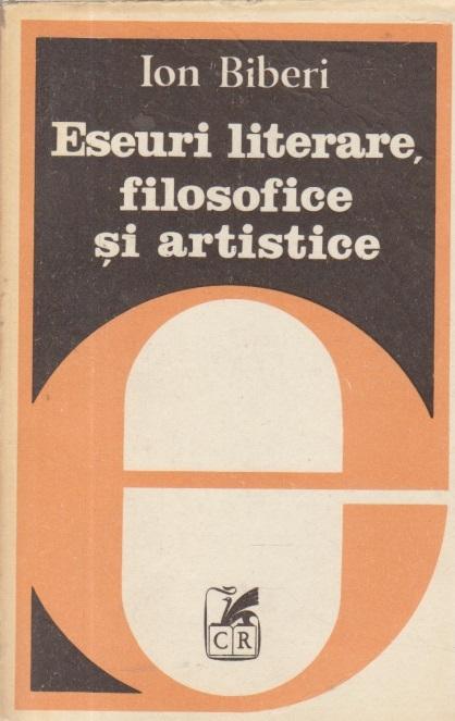 Eseuri literare, filosofice si artistice