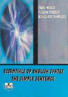 Essentials of English Syntax. The simple sentence