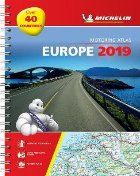 Europe 2019 - Tourist and Motoring Atlas (A4-Spirale)