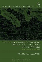 European Standardisation of Services and its Impact on Priva