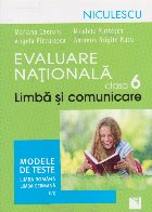 Evaluare Nationala Clasa Limba comunicare