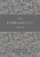 Everyday Life Bible (Fashion Edition: Gray Imitation Leather