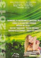 Examenul de Bacalaureat National 2013 - Limba si literatura romana. Modele de teste