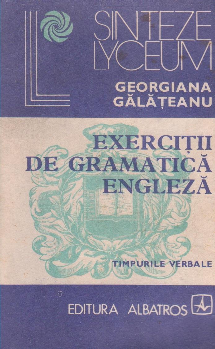 Exercitii de gramatica engleza - Timpurile verbale