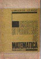 Exercitii probleme matematica pentru clasele