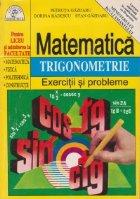 Exercitii probleme trigonometrie