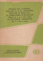 Extrase din lucrarile celui de al 6-lea simpozion privitor la biologia si combaterea buruienilor tinut la 4/5 mai 1965 la Stuttgart - Hohenheim
