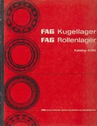 FAG Kugellager / FAG Rollenlager - Katalog 41000