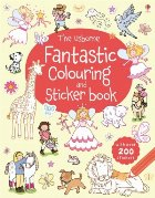 Fantastic colouring and sticker book