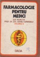 Farmacologie pentru medici, Volumul al II-lea