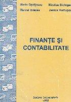 Finante si Contabilitate