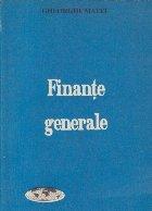 Finante Generale