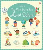 first word book about school