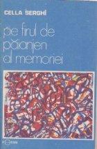 Pe firul de paianjen al memoriei, Editie definitiva
