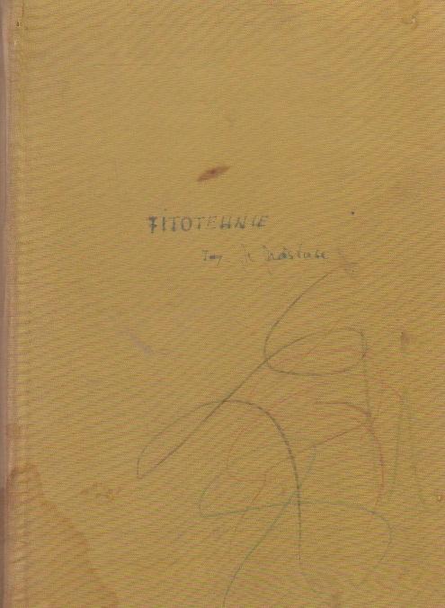 Fitotehnie, Volumul al II-lea