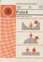 Fizica - Manual pentru clasa a IX-a (Hristev)