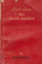 Flori alese din poezia populara - Antologia poeziei lirice
