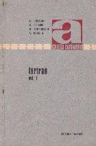 Fortran, Volumele I si II