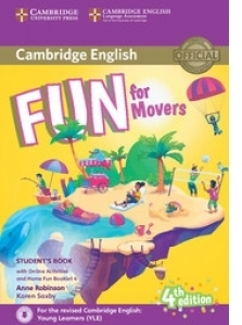 Fun for Movers Student s Book with Online Activities with Audio and Home Fun Booklet 4 ( 4 th edition )