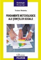 Fundamentele metodologice ale științelor sociale
