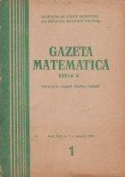 Gazeta matematica 1/1970
