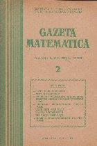 Gazeta Matematica, 2/1979
