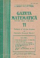 Gazeta Matematica, 11/1979