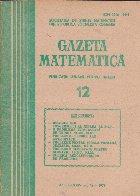 Gazeta Matematica, 12/1979